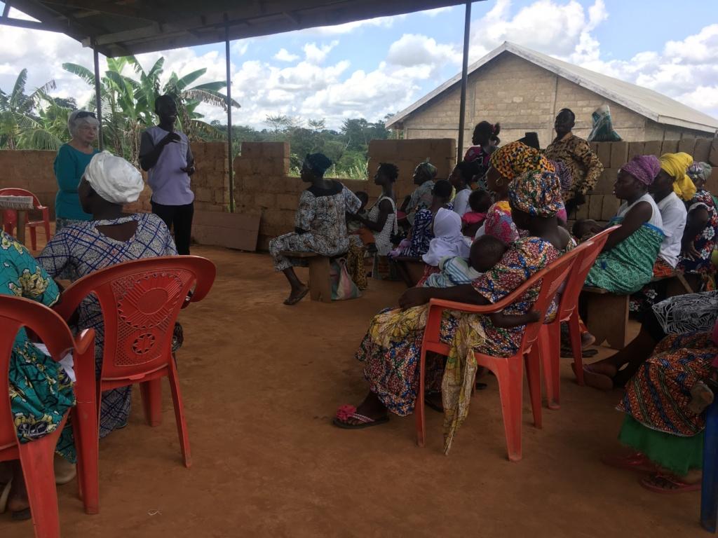 GHFGHC meeting in Beposo, Ghana.