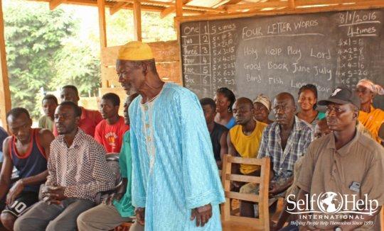 The PTA discusses school feeding program