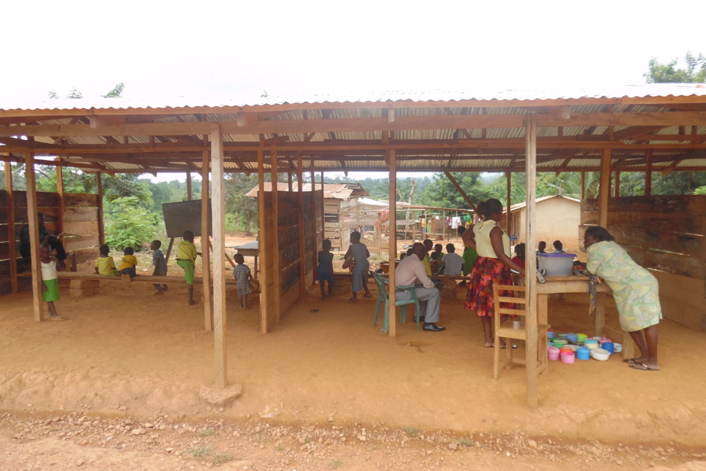 Dusty classrooms make learning difficult