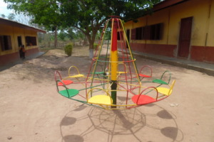 A new merry-go-round brings joy to the children
