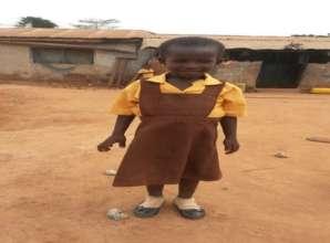 Fatima ready for school