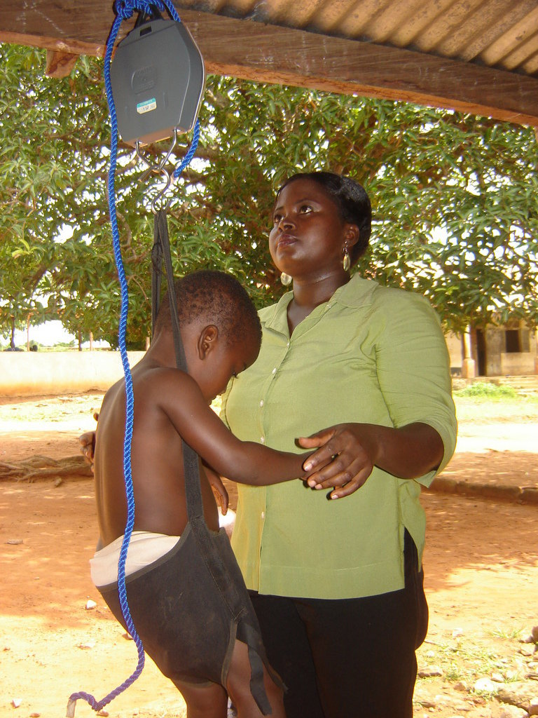 End Malnutrition for 600 Children in Ghana
