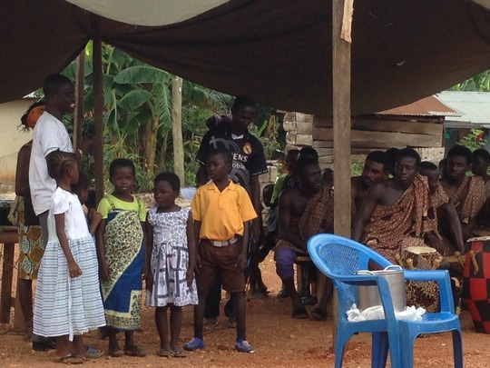 Children sing QPM koko song