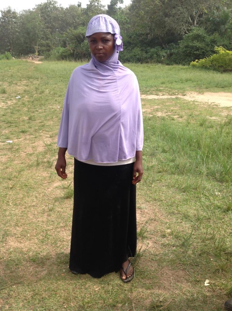 Sawdatu, ready to join the micro-credit program