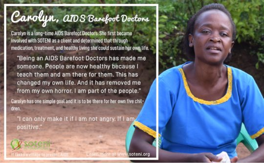 Carolyn, AIDS Barefoot Doctor
