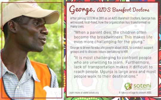 George, AIDS Barefoot Doctor