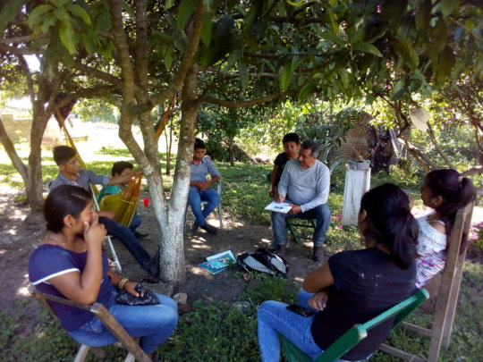 Training for young people on administration