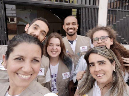 "The ""Atrevete en Peru"" team"