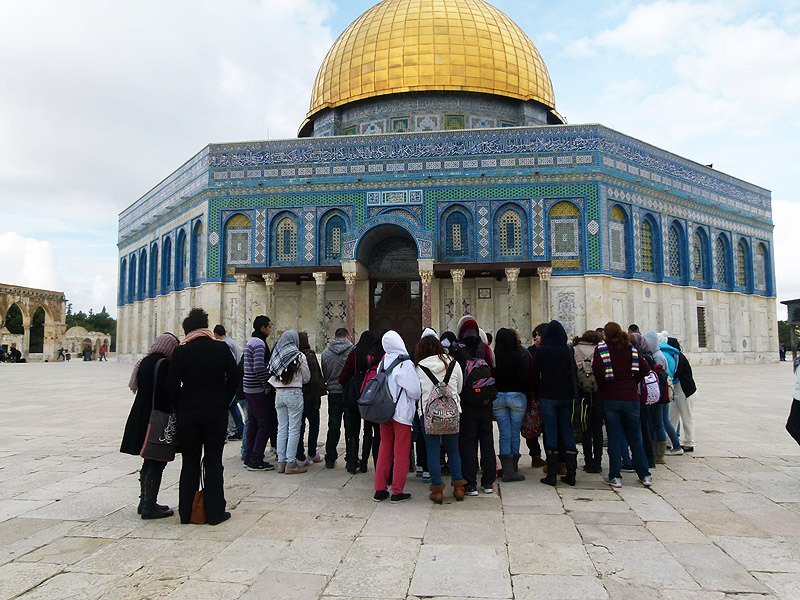 Touring the holiest sites of Jersusalem