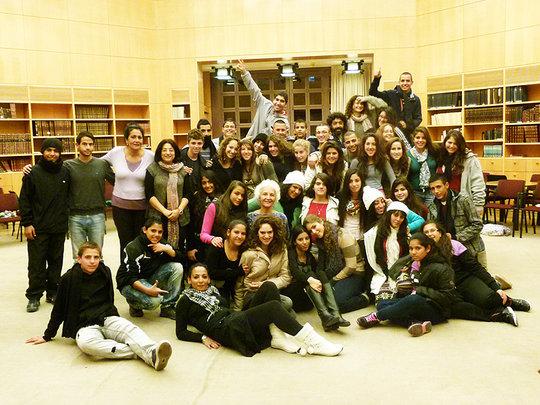 Youth from Massa-Massar project