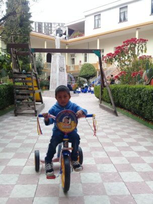 Adrian, one of the 77 children in our care.