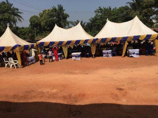 Audeince at Ogidi Symposium