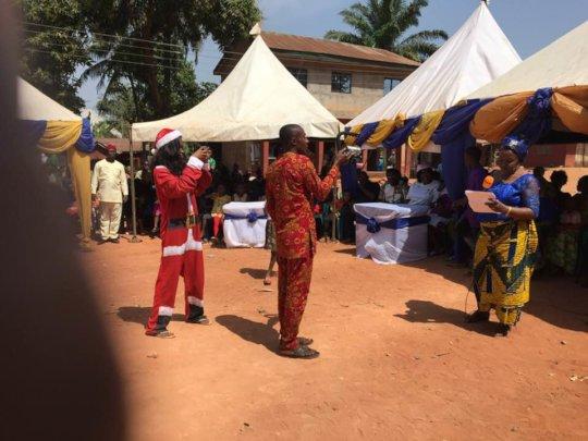 Women Leader at Ogidi Presenting at the Symposium