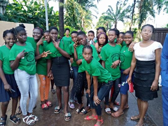 Participants Having Fun