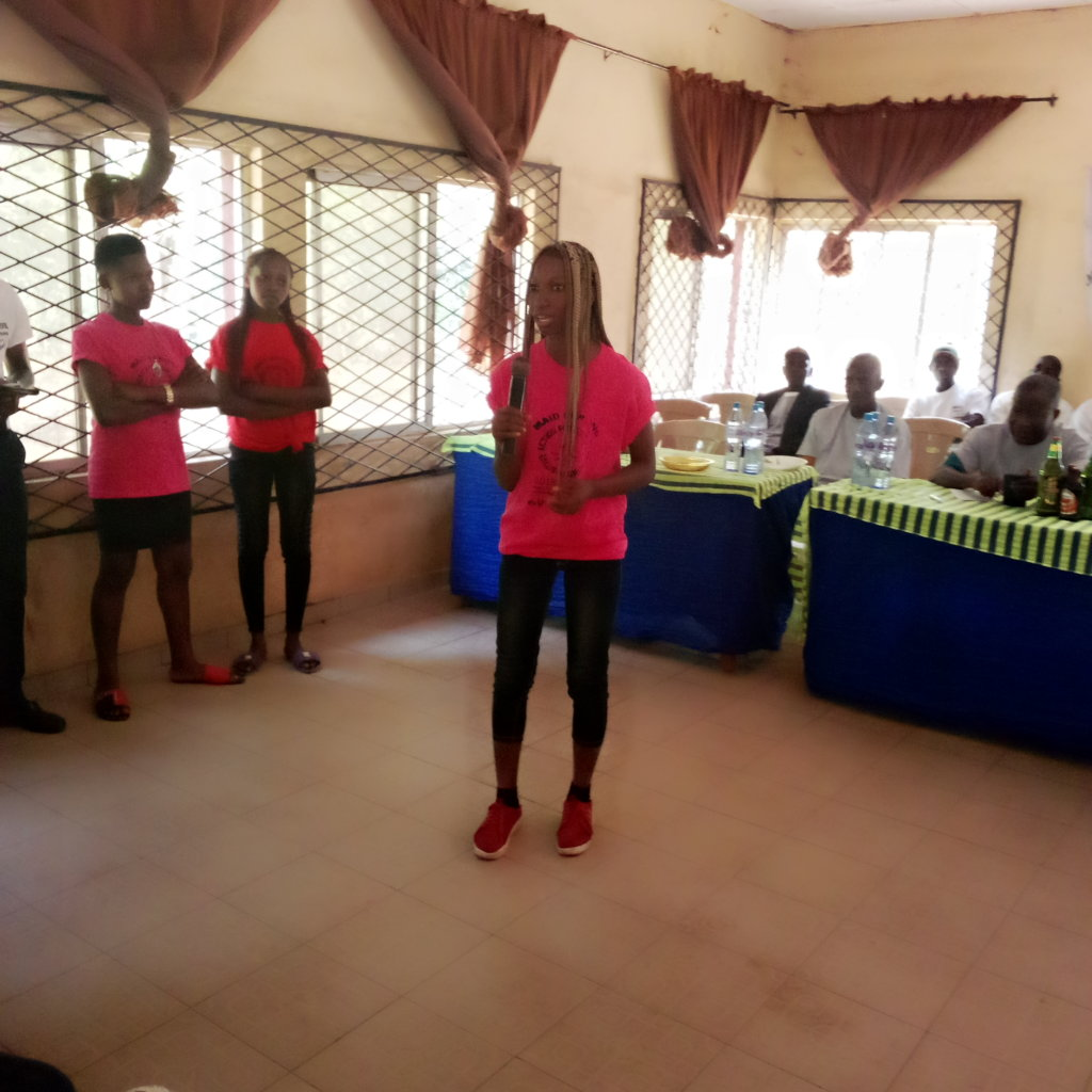 Maid Strong Girl Presenting at Ozalla Ezimo