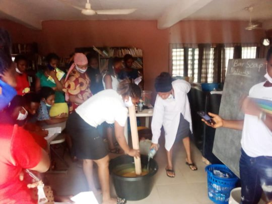 Teaching of Soap, Disinfectant and Bleach Making