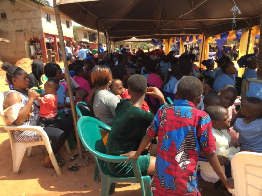 Symposium Crowd at Ogidi