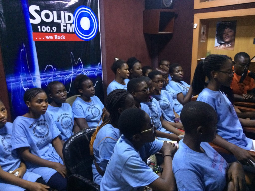Maid Strong: Stop Trafficking of Adolescent Girls