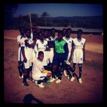 Girls Football Team Abenta