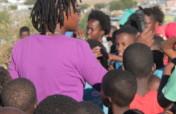 Educate 5,000 Namibian teenagers on HIV using Arts
