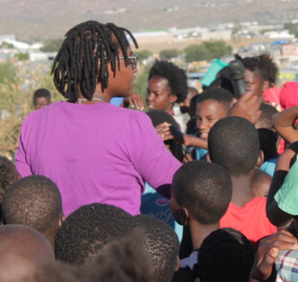 Educate 6,000 Namibian teenagers on HIV using Arts