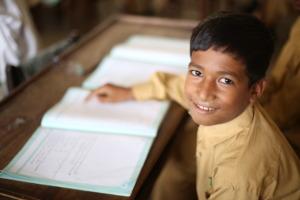 Illuminate a child's life through education