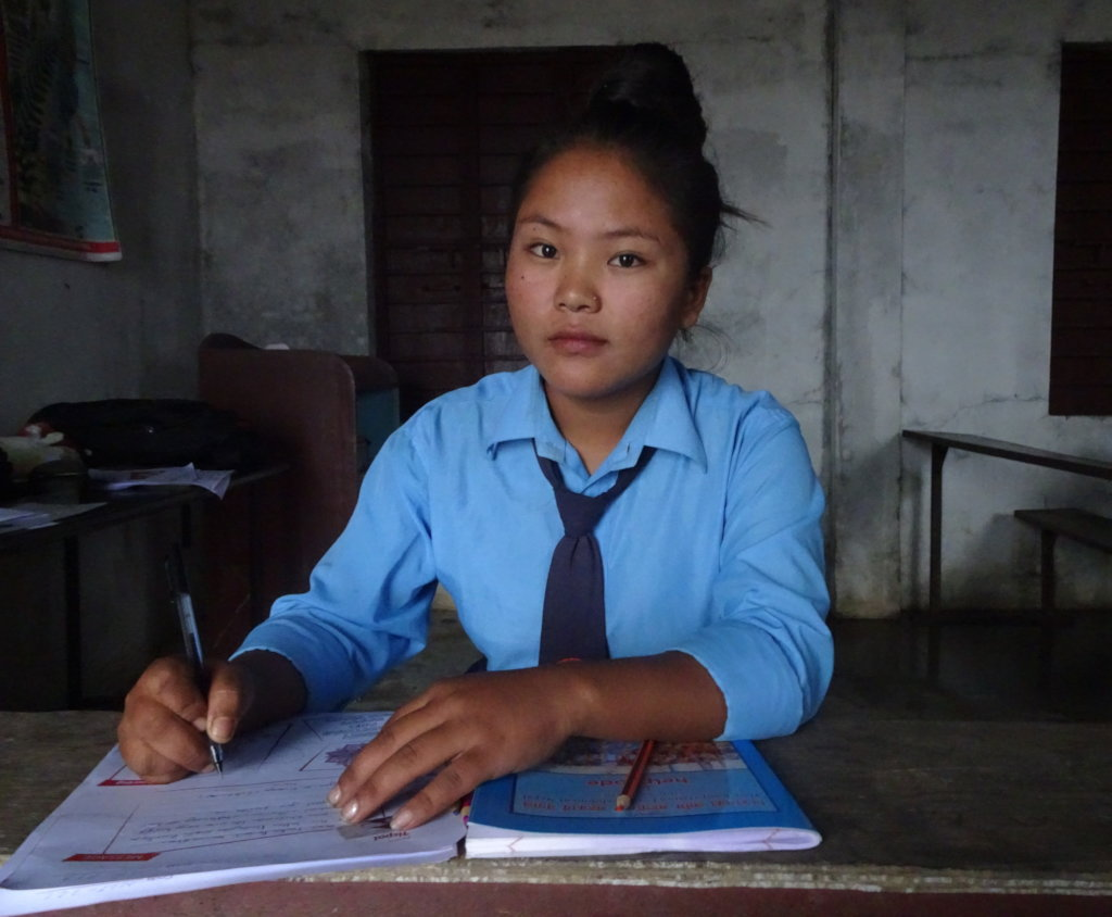 Happy Period for 600 Nepali girls in 7 schools