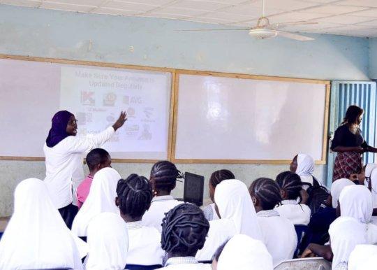 Staying Safe Online workshop (16 Days) - Kwara