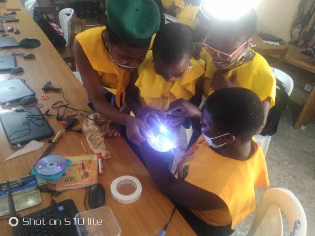 Technology Afterschool Clubs for Girls in Nigeria