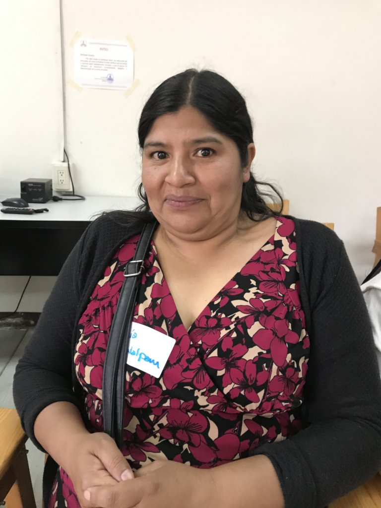 Empowers 100 Zapotec women to be government