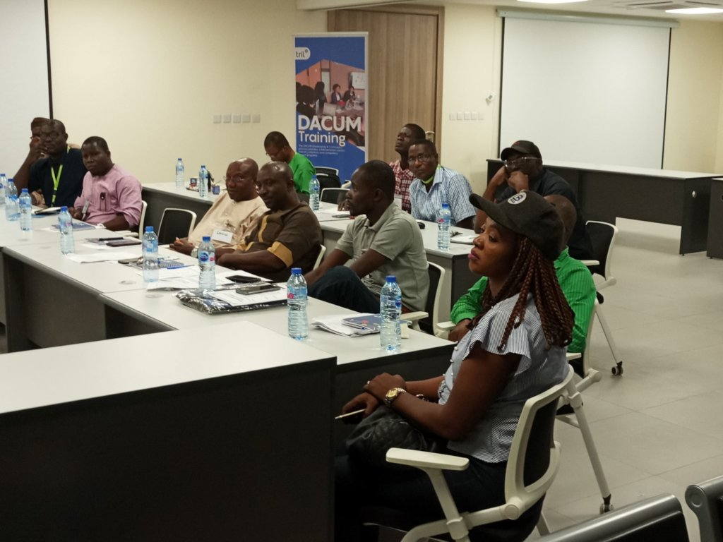 SMEs at the Occupation Analysis workshop