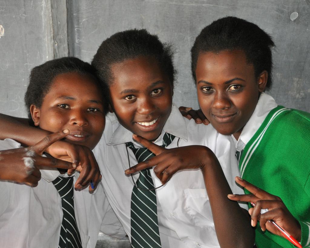 9th graders (form one) at Mahiga Hope High