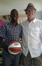 Turk and George Abrahams, basketballer at USIA