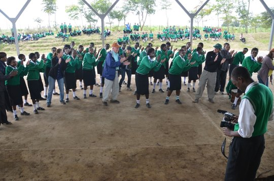 Mahiga girls raise their voices