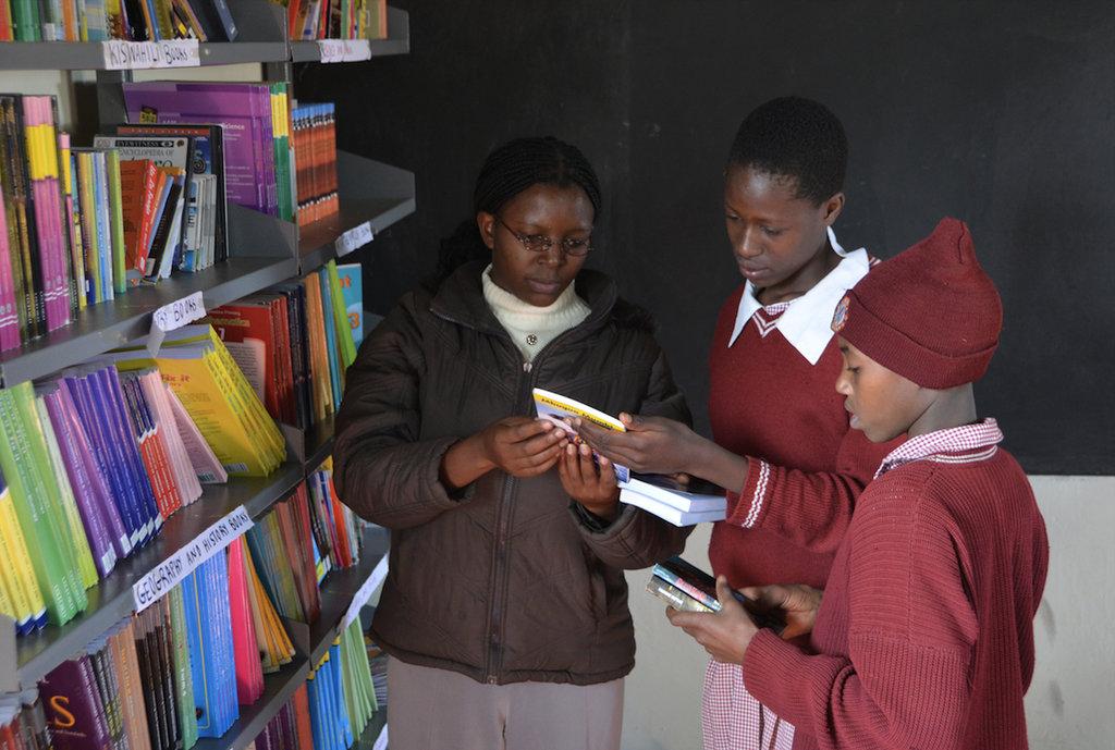 The Joe Gracey Library at Simbara Secondary