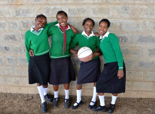 Magi Girls Basketball teammembers