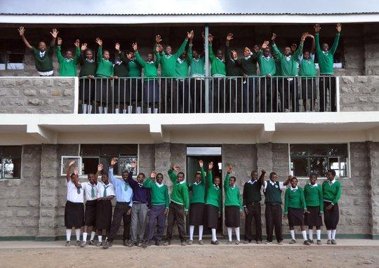 Mahiga Hope High School Students and Classrooms