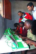 Computer Class - One Laptop Per Child