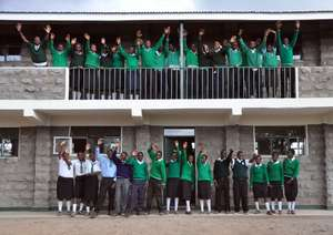 Mahiga Hope High School Students and Classrooms