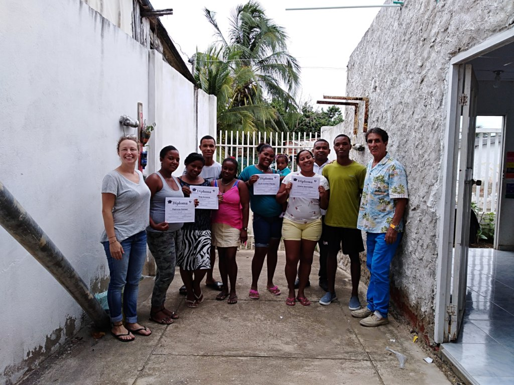Opportunities and jobs to villagers in Colombia