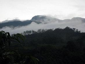 Panoramic view at Finca Salvaje