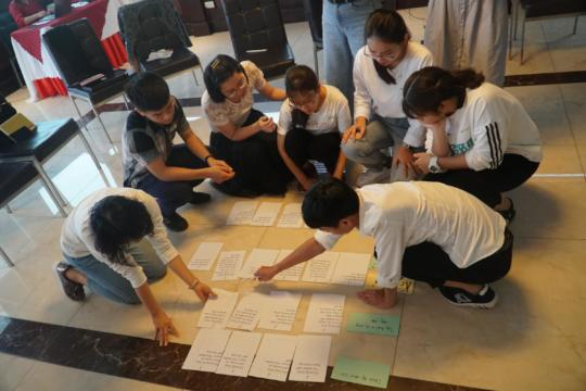 Students became collaborators of CARE