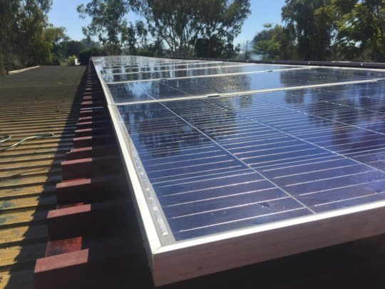 Another view of solar panels