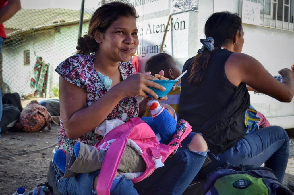 Provide Meals for Venezuelan Refugees in Colombia