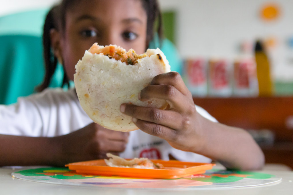 A meal for 540 children to finish school