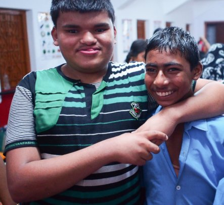 Boys at Bhalabosa become friends