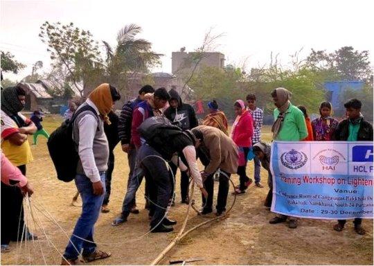 Demonstration in Lightening Resilience workshop