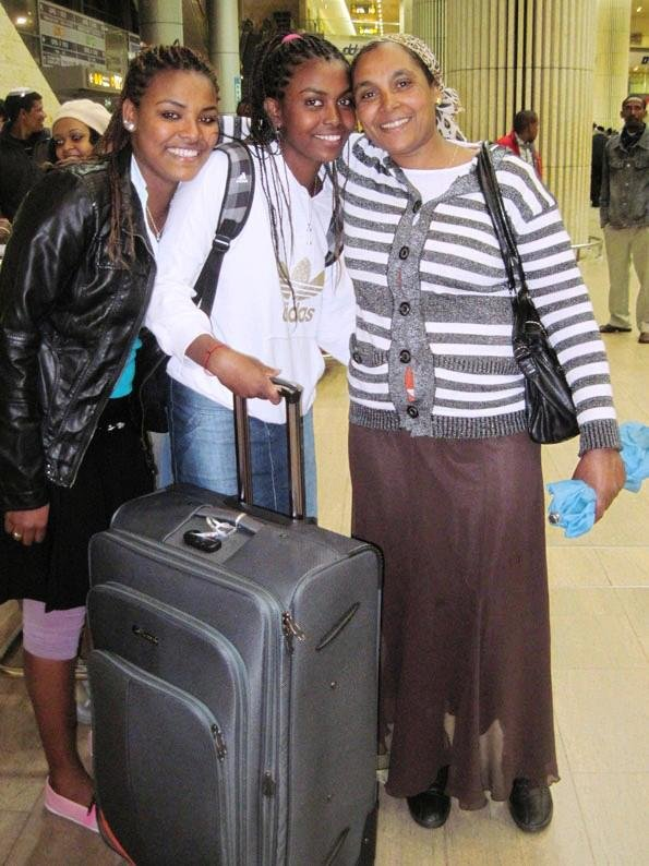 Family roots trip to Ethiopia - saying goodbye