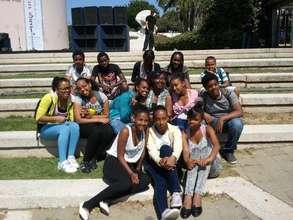 Participants visit Tel Aviv University
