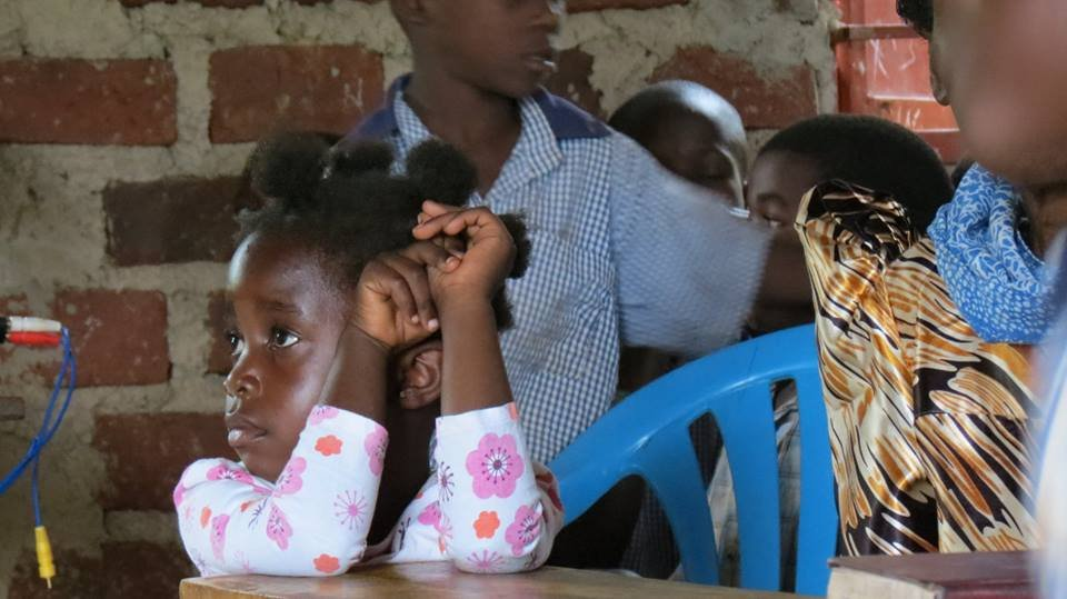 Blankets to keep 100 HIV infected kids warm